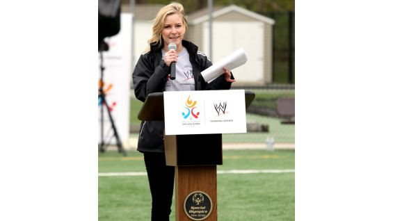 Renee is the official host at the event.