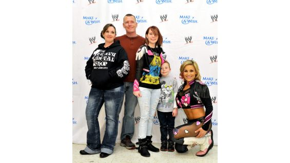 Alexis and her family traveled from Richlands, N.C., to Baltimore to meet Natalya!