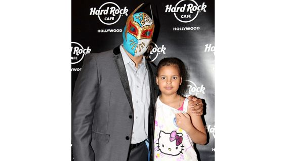 """Any time you can help kids out besides watching us wrestle is very important to me, especially because I'm a dad,"" Sin Cara told WWECommunity.com."