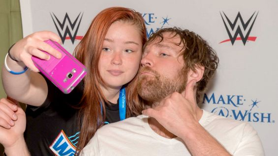 Alicia Fox And Dean Ambrose WWE Superstars join Ma...