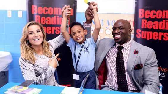 WWE and We Give Books host a Reading Celebration in New Orleans with Natalya and Titus O'Neil.