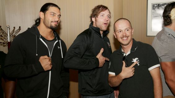 The Shield's visit takes place before a WWE Live Event in Riyadh.