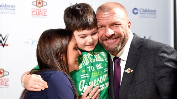 WWE announces its partnership with The V Foundation at Children's Hospital of Pittsburgh.