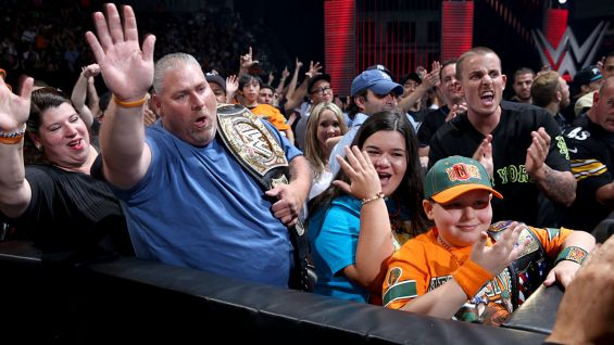 Rocco and his family enjoy Raw in Brooklyn, N.Y.
