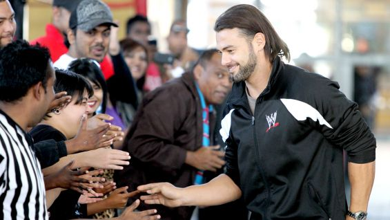 Justin Gabriel greets the WWE Universe in his native South Africa.