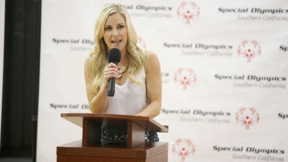 WWE Announcer Renee Young kicks off the festivities.