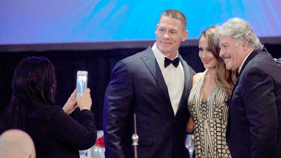 Cena and Nikki meet Tony Orlando, a legendary entertainer who has supported our troops for more than 30 years.