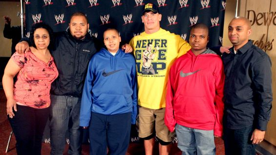 Cena has granted more than 300 wishes and counting with Make-A-Wish!