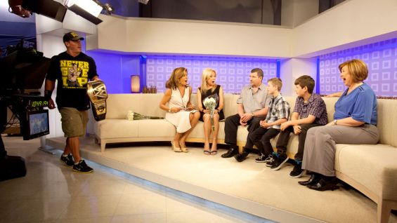 Hoda Kotb and Kathie Lee Gifford tell Nick he's in for a big surprise.