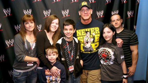 John Cena has granted more than 300 wishes and counting with Make-A-Wish kids like Zachary!