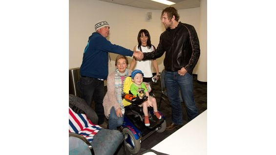 Circle of Champions: Dean Ambrose meets Make-A-Wish kids in