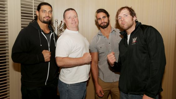 The visit to Riyadh marks WWE's first time in Saudi Arabia.