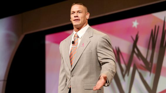 John Cena is a special guest speaker at the 2013 Susan G. Komen Leadership Conference.