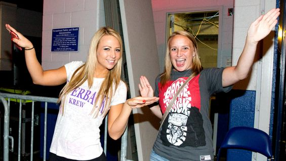 Kristi also ran into Emma backstage.