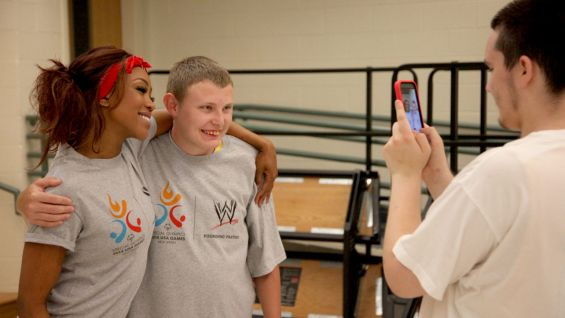 WWE is a Founding Partner of the 2014 Special Olympics USA Games.