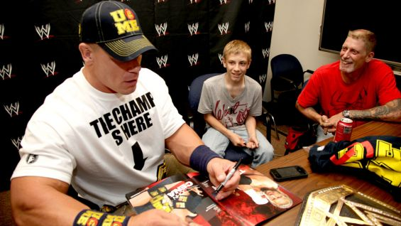 John Cena meets Jake from Wish Upon a Star.