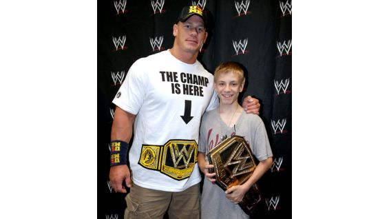 Cena has granted more than 350 wishes and counting with agencies such as Wish Upon a Star and Make-A-Wish.