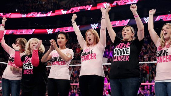 This marks WWE's fourth year of partnering with Susan G. Komen.