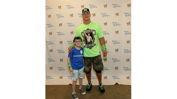 Cena also meets Lukas before SmackDown in Greensboro, N.C.