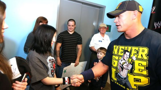 As an added incentive, WWE Superstar John Cena will personally match every frequent flier mile donated in April, up to 4.5 million!