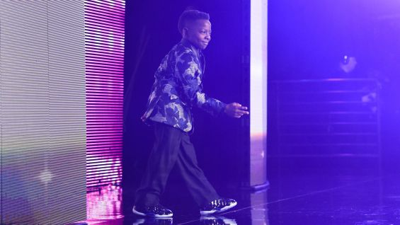 From the moment he takes the stage, Jarrius owns the audience.