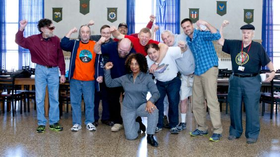 WWE Hall of Famer Bob Backlund pays another visit to the Connecticut Department of Veterans' Affairs Veterans' Home.