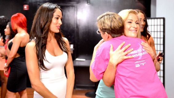 "Susan G. Komen and WWE's awareness campaign, ""Make Mom Proud,"" supports the fight against breast cancer."