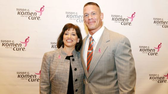 Cena meets Judith A. Salerno, M.D., M.S., President and Chief Executive Officer of Komen.