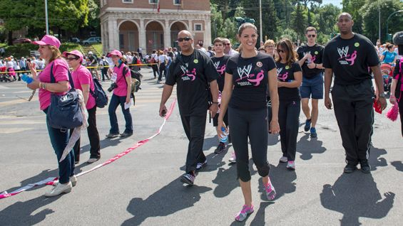 The Komen Race route includes historical sites such as the Colosseum, Piazza Venezia and Piazza Bocca della Veritá in Rome.