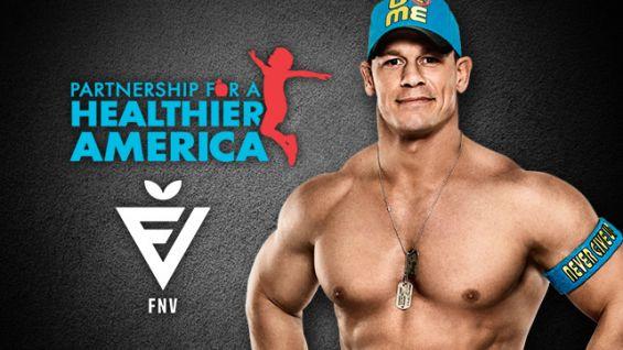 John Cena dumny będąc w drużynie FNV