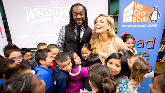 Stay tuned to WWECommunity.com for more information on the upcoming WrestleMania Reading Challenge.