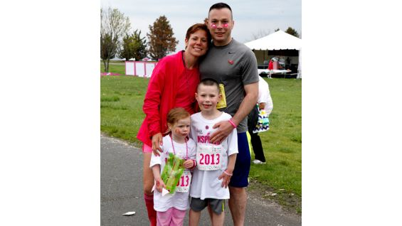 The event brought families together for an important cause.