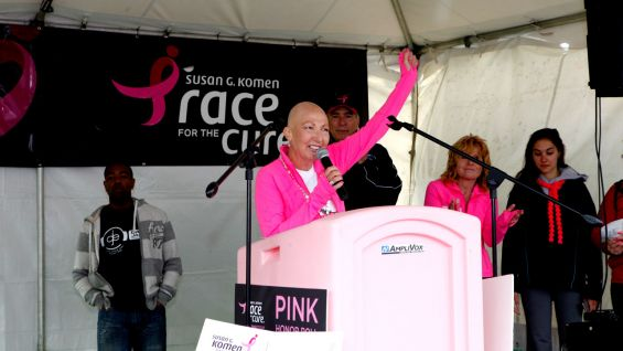 "Komen and WWE have partnered for an awareness campaign, ""Make Mom Proud,"" to support the fight against breast cancer."