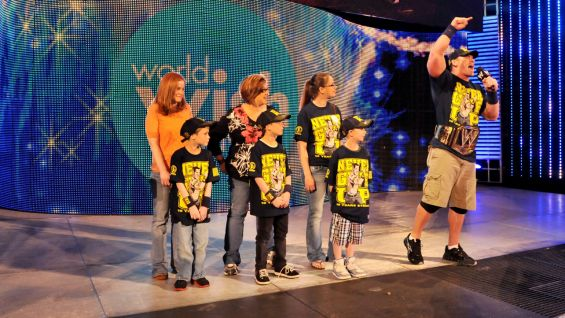 Cena encourages the WWE Universe to visit wish.org/wwe to find out how to help Make-A-Wish grant more wishes.