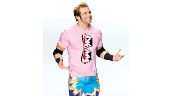 Woo! Woo! Woo! Zack Ryder loves his Komen shirt. You know it!