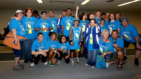 WWE celebrates its official partnership with Special Olympics Connecticut, an organization that provides year-round sports training and competitions for close to 15,000 athletes of all ages with intellectual disabilities and unified partners in the state.