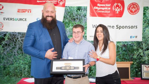 Bobby Zabarsky, a Special Olympics Connecticut athlete from Oxford, Conn., who has been competing for more than five years in swimming, cycling, golf and alpine skiing has earned numerous medals in multiple sports, was also honored with a Hero Award.