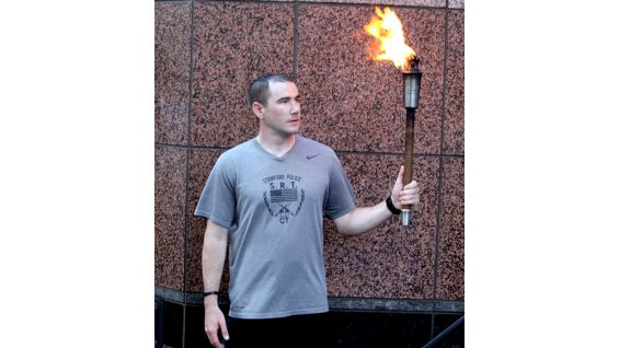 """The """"Flame of Hope"""" is at WWE Headquarters!"""