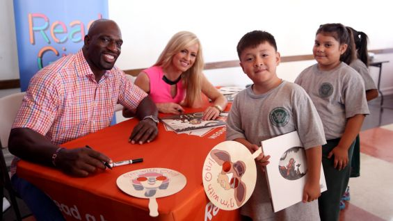 Superstars and Divas take part in several LA area community events during SummerSlam Week, including a Be a STAR rally, a Make-A-Wish party and a Special Olympics basketball game.