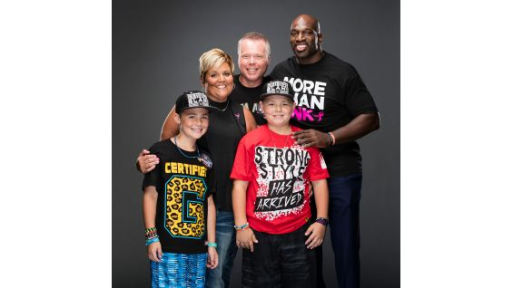 Kelly Sherman is a breast cancer survivor and winner of WWE's Share Your Strength contest with Susan G. Komen. Kelly is a full-time mom to two boys and volunteers in the chemotherapy clinic at the Stefanie Spielman Center in Columbus, Ohio.