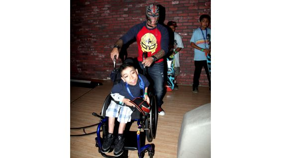 Make A Wish Event With Rey Mysterio Photos Wwe Community