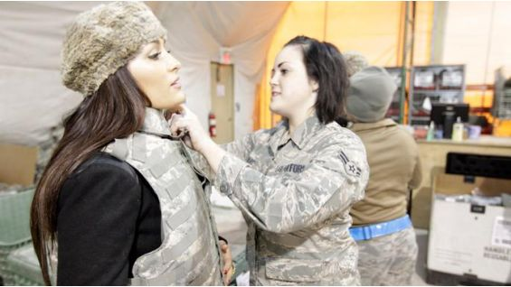 The Bellas traveled to Kyrgyzstan to spread some holiday cheer ...