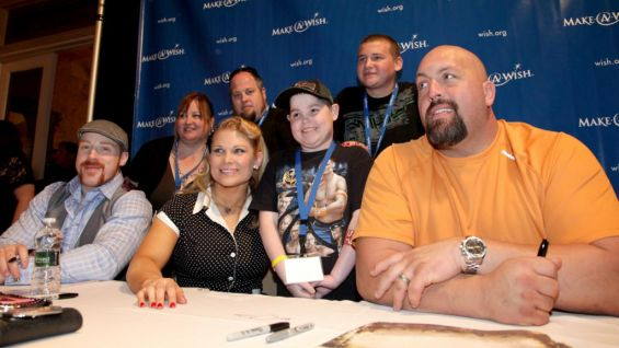 Sheamus, Beth Phoenix and Big Show arrive to make a few wishes come true.