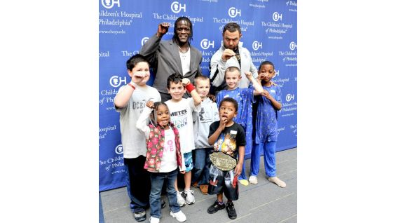 WWE Superstars R-Truth and Santino Marella appeared on a radio show hosted by children at The Children's Hospital of Philadelphia and initiated by The Ryan Seacrest Foundation.