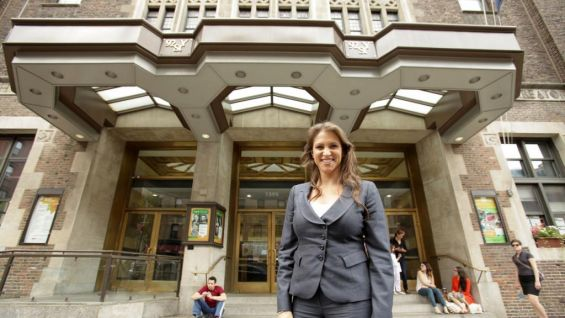 EVP of Creative Stephanie McMahon appears in front of the 92nd Street Y in New York. On Saturday, WWE announced its partnership with Nothing But Nets, a campaign to save lives by preventing malaria.