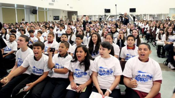 Wrestlemania Week Be A Star Rallies In Miami Schools Photos Wwe