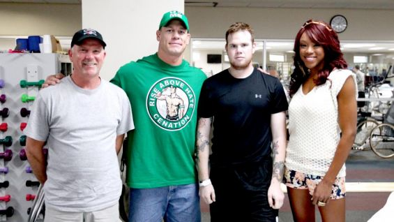John cena and alicia fox visit the walter reed national military john cena and alicia fox visit the walter reed national military medical center photos wwe community m4hsunfo