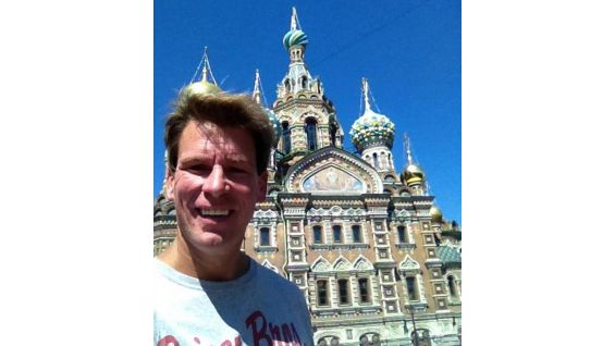 JBL at the Cathedral of the Resurrection in St. Petersburg, Russia.