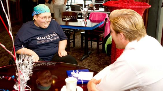 Swagger hits a special milestone in his career by meeting Brandi: She's the first individual to request him for her wish.
