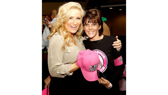 Natalya and other Superstars and Divas meet special guests from Susan G. Komen for the Cure before Raw in Charlotte, N.C., at Time Warner Cable Arena.